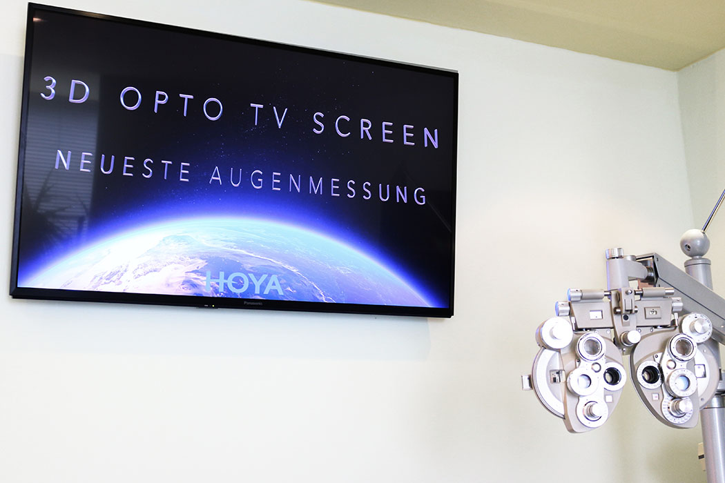 Smart 3D Refraktion bei Ihrem Optiker in Nürnberg Eibach